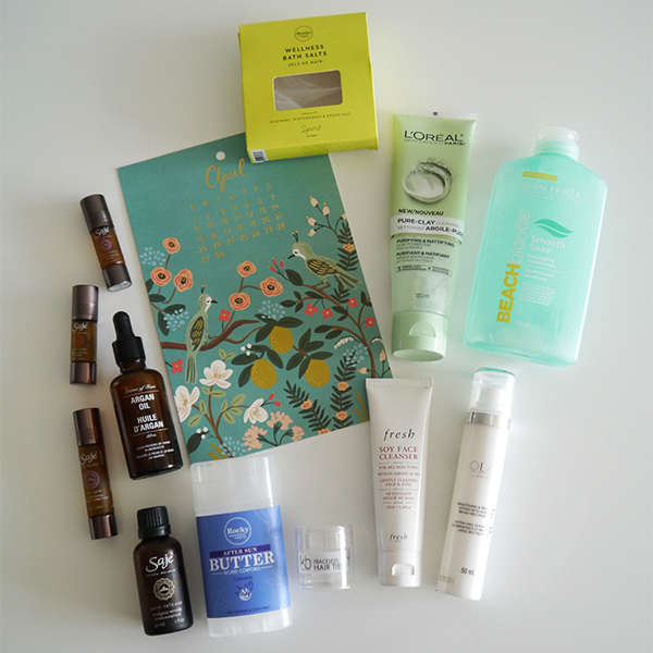 Round-up of empty beauty, skincare, and wellness products for April 2018