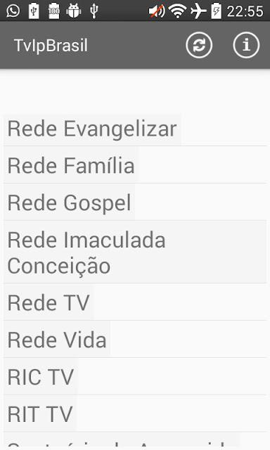 TV IP Brasil - Apk - TV Brasileira no seu Android