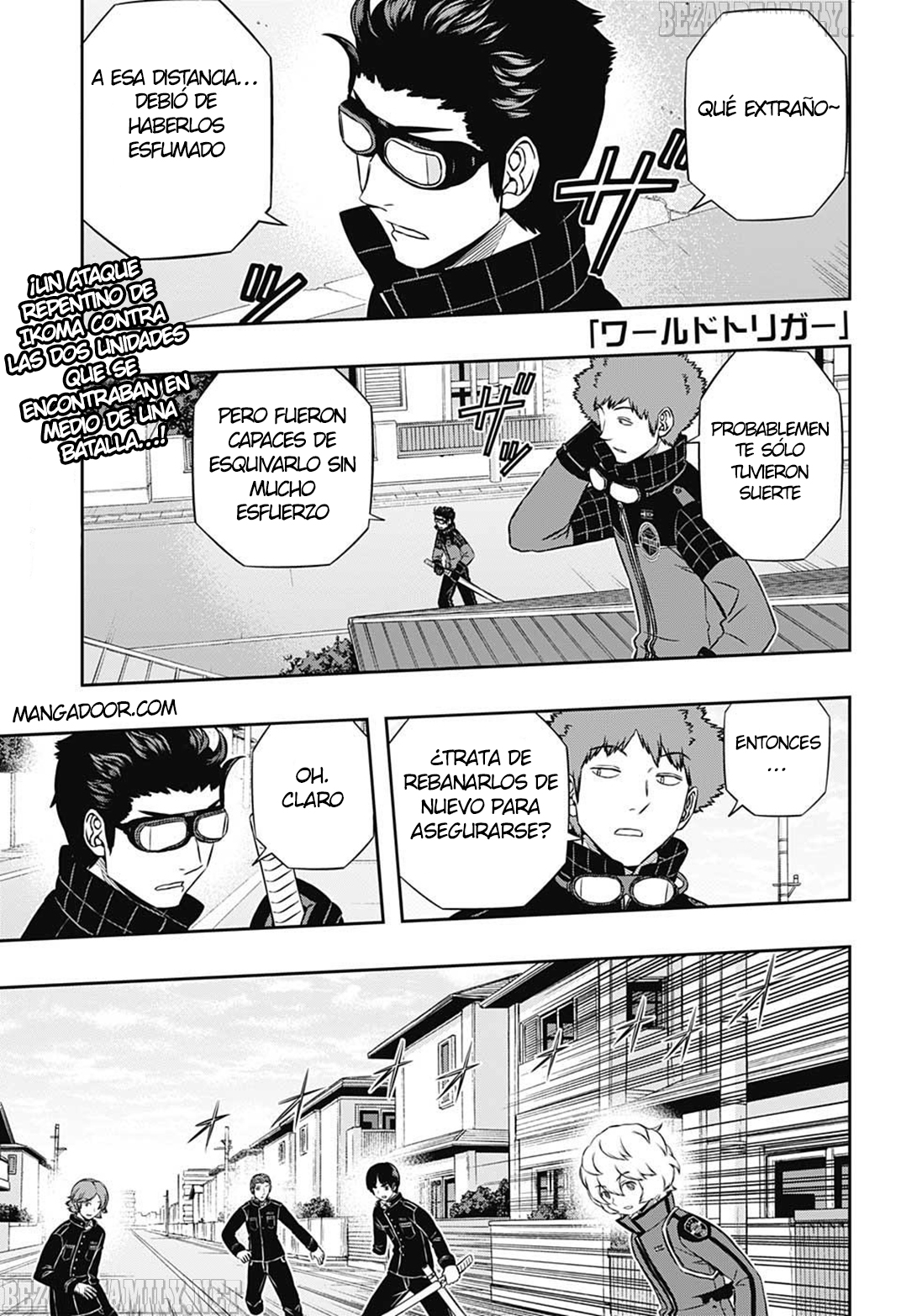 World Trigger: Chapter 154 - Page 2