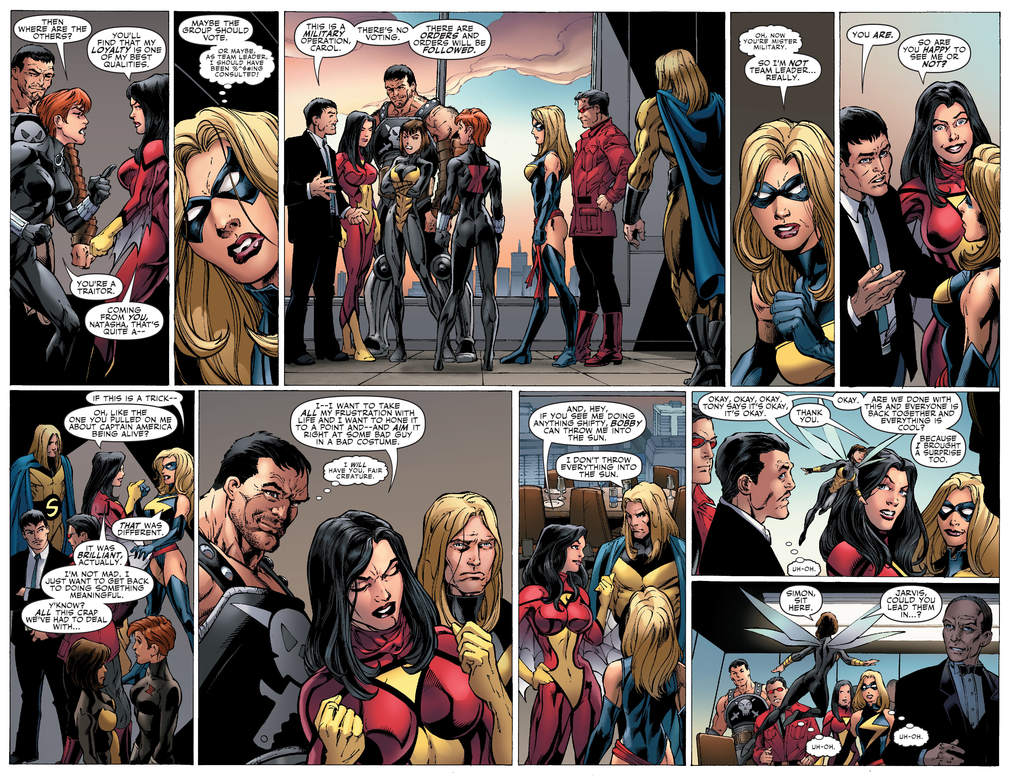 Read online Secret Invasion: The Infiltration comic -  Issue #1 - 13