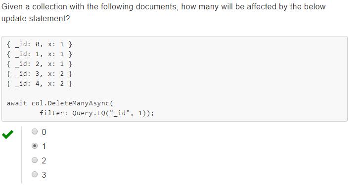 AngularJS,JQuery,Asp Net,C#,SQL Server: MongoDB Quiz 7, Week