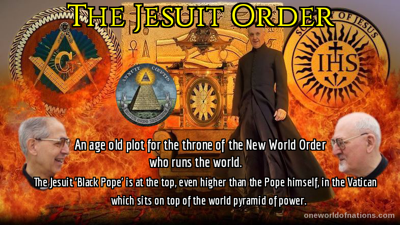Jesuits, NWO, Vatican, New World Order,