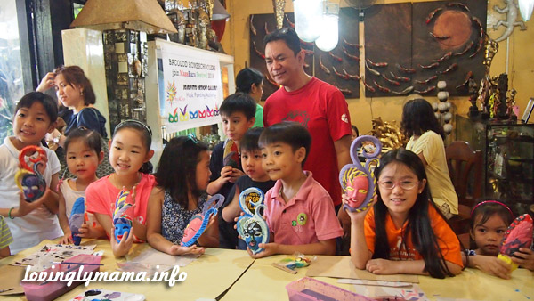 Bacolod Homeschoolers mask painting