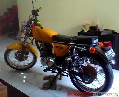 Honda Gl Max 1994 Modif Cb Gambar Modifikasi Motor Terbaru