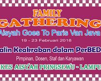 5 Hari Ikuti Family Gathering Goes To Bandung dan Bogor Bersama Keluarga dan Rekan Kerja