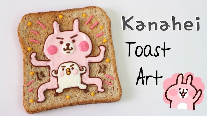 【Toast Art】Kanahei Toast Art 卡娜赫拉吐司