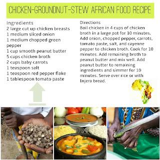 Chicken Ground Nut Stew