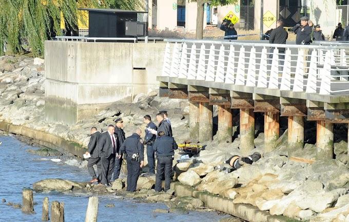 Hallan cadáveres descompuestos de dos mujeres maniatadas con cinta adhesiva en río del Alto Manhattan