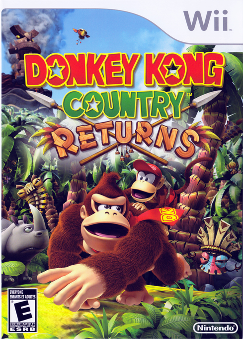 Untitled - Donkey Kong Country Returns [SF8E01] [Wii/WBFS]