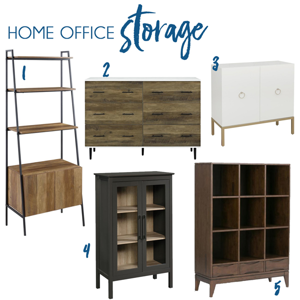 Modern Home Office Furniture from Home Depot