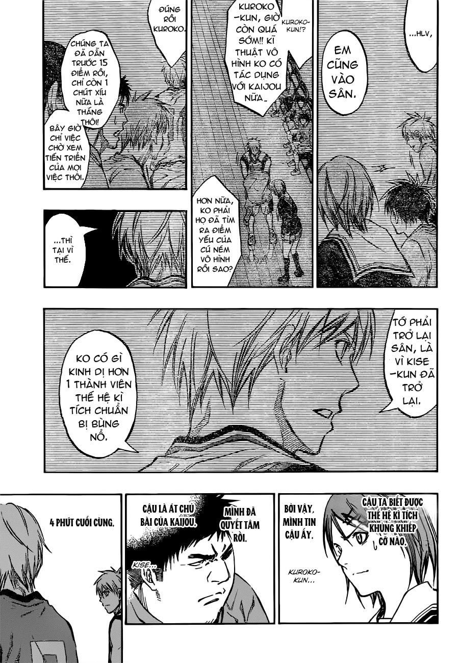 Kuroko No Basket chap 195 trang 17