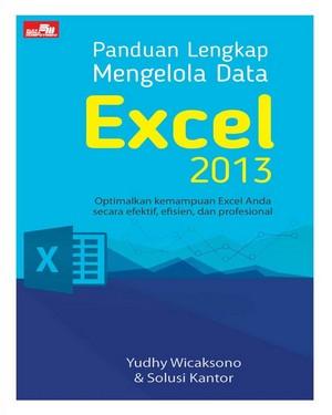Panduan Lengkap Mengelola Data Excel 2013