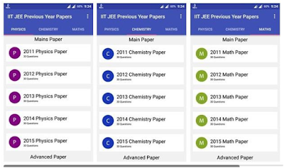 IIT JEE Previous Year Papers app