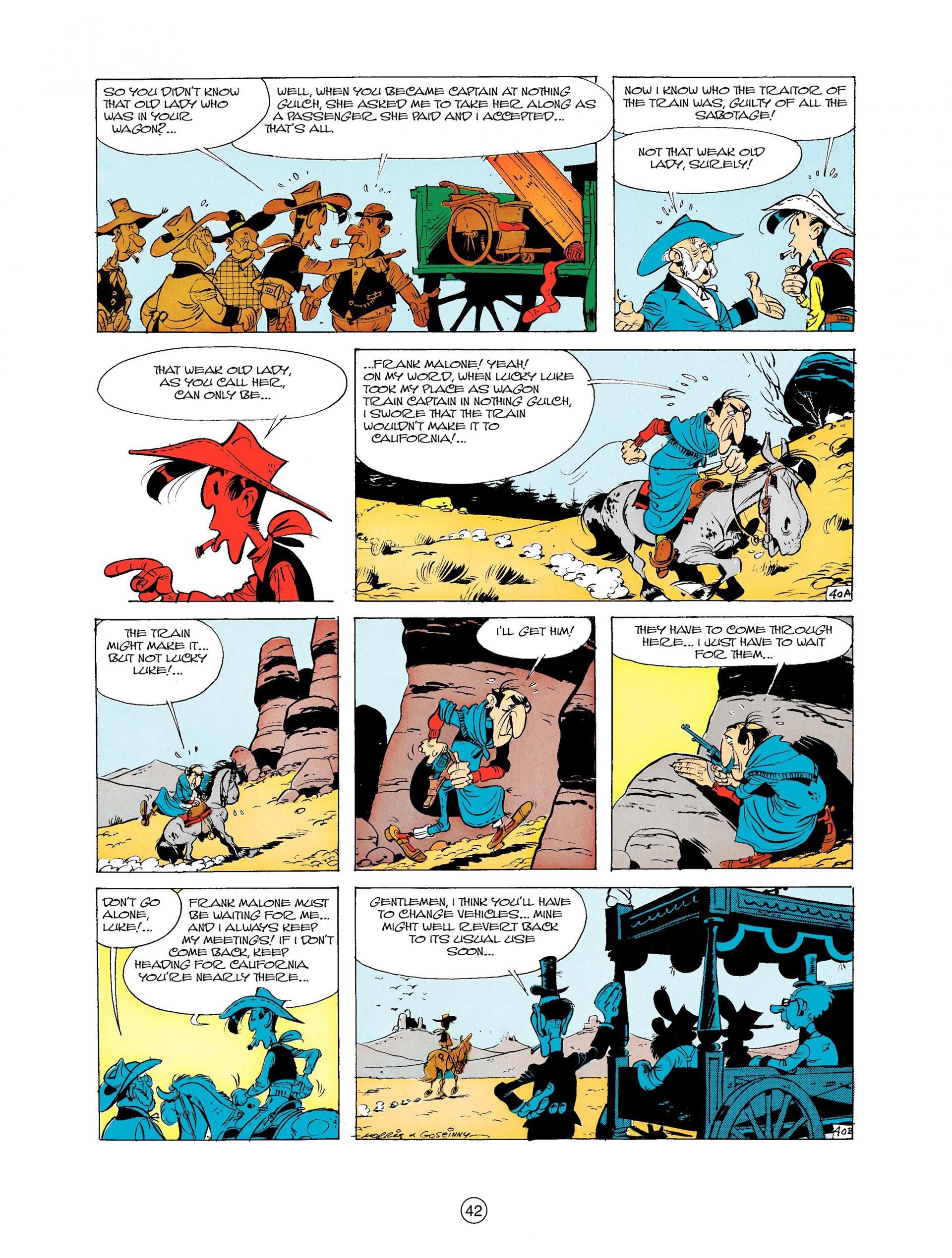 Read online A Lucky Luke Adventure comic -  Issue #9 - 42