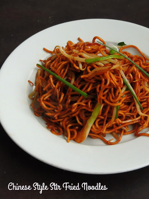 Chinese Style Stir Fried Noodles