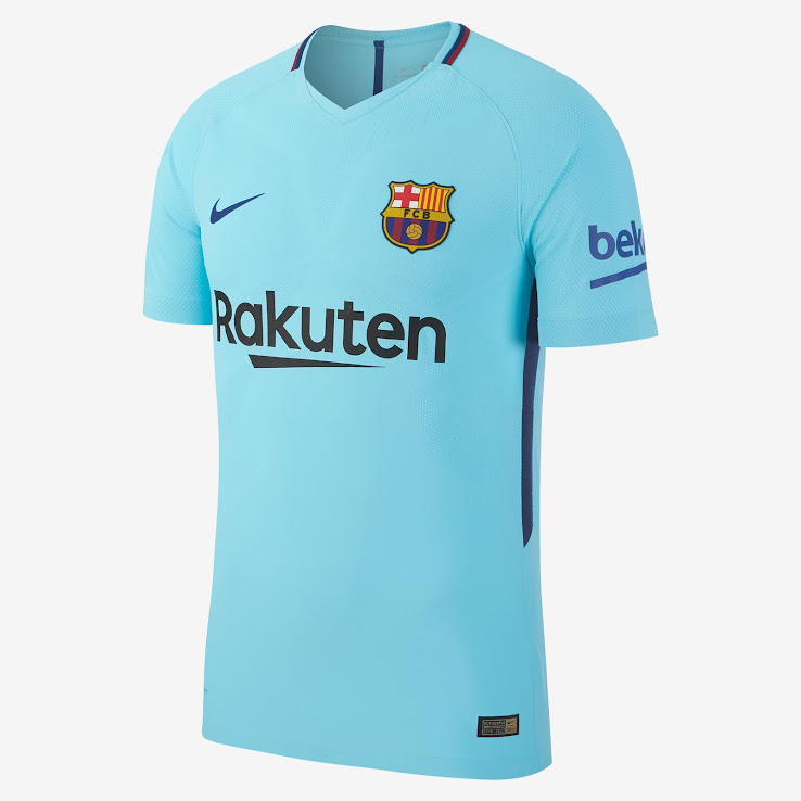 72f85ddb8 Barcelona 17-18 Away Kit Released - Footy Headlines