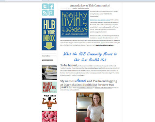 healthy living blogs feature diary of a semi health nut