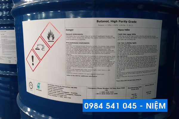 Dung môi công nghiệp n-Butanol
