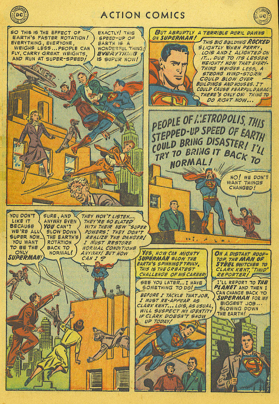 Read online Action Comics (1938) comic -  Issue #186 - 9