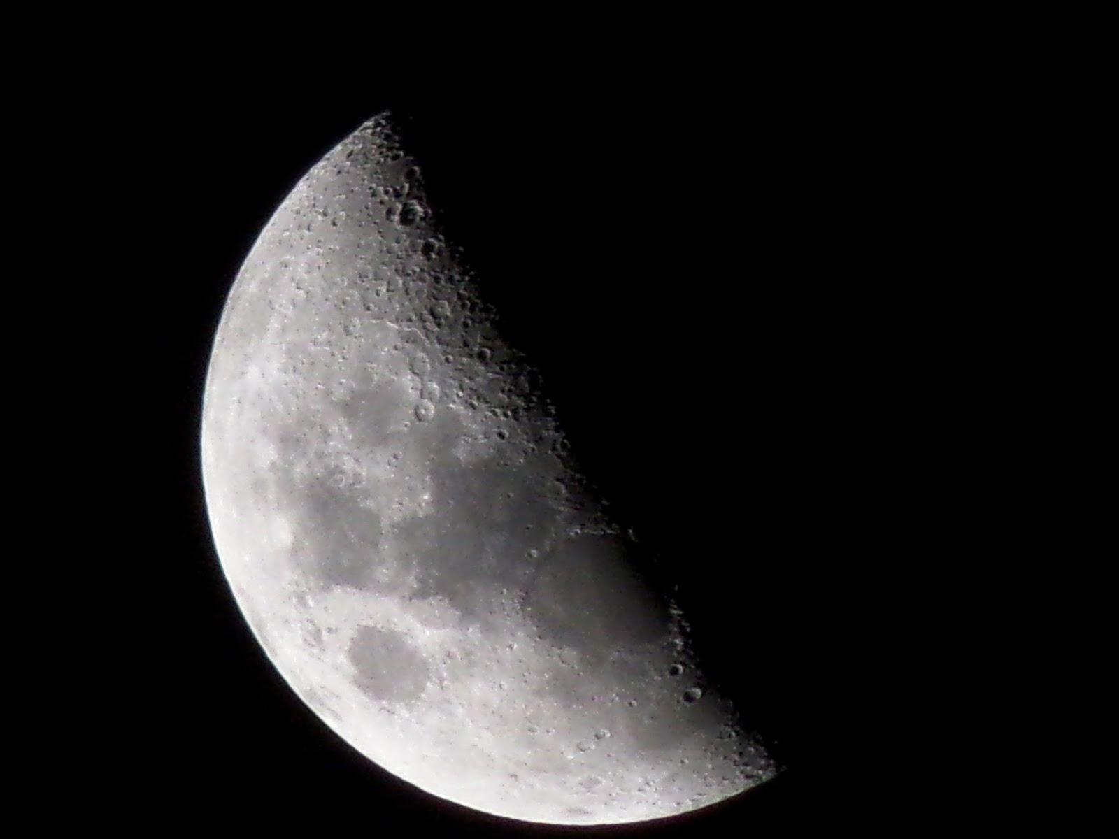 Genial cuarto menguante im genes fases de la luna mas for Cuarto menguante de la luna