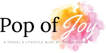 Pop of Joy - A travel and Lifestyle blog