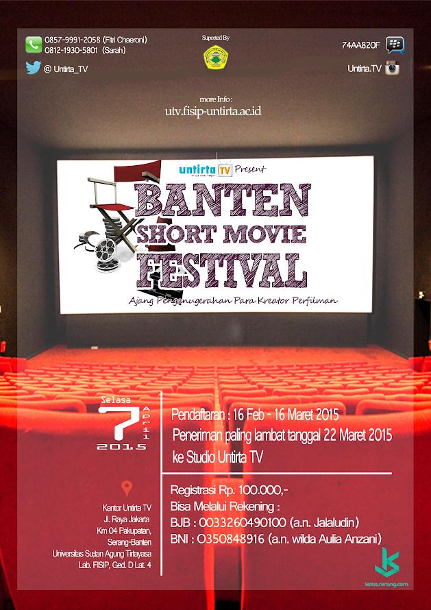 BANTEN SHORT MOVIE FESTIVAL 2015