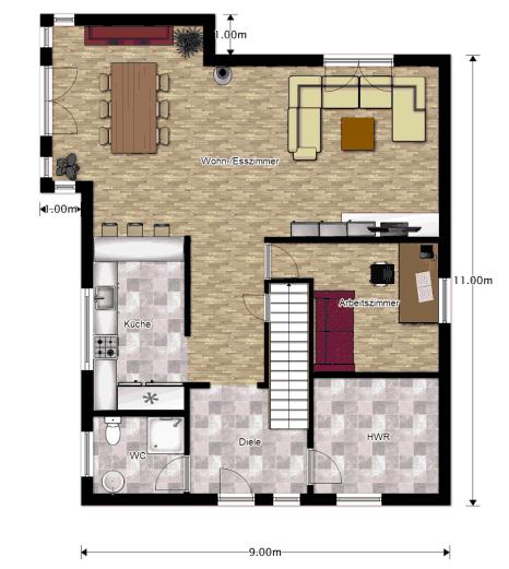 wir bauen ein neo von fingerhaus grundrisse. Black Bedroom Furniture Sets. Home Design Ideas