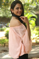Rakul Preet Singh in lovely Pink Crop Top and Black Trousers at Jaya Janaki Nayaka success meet 033.JPG