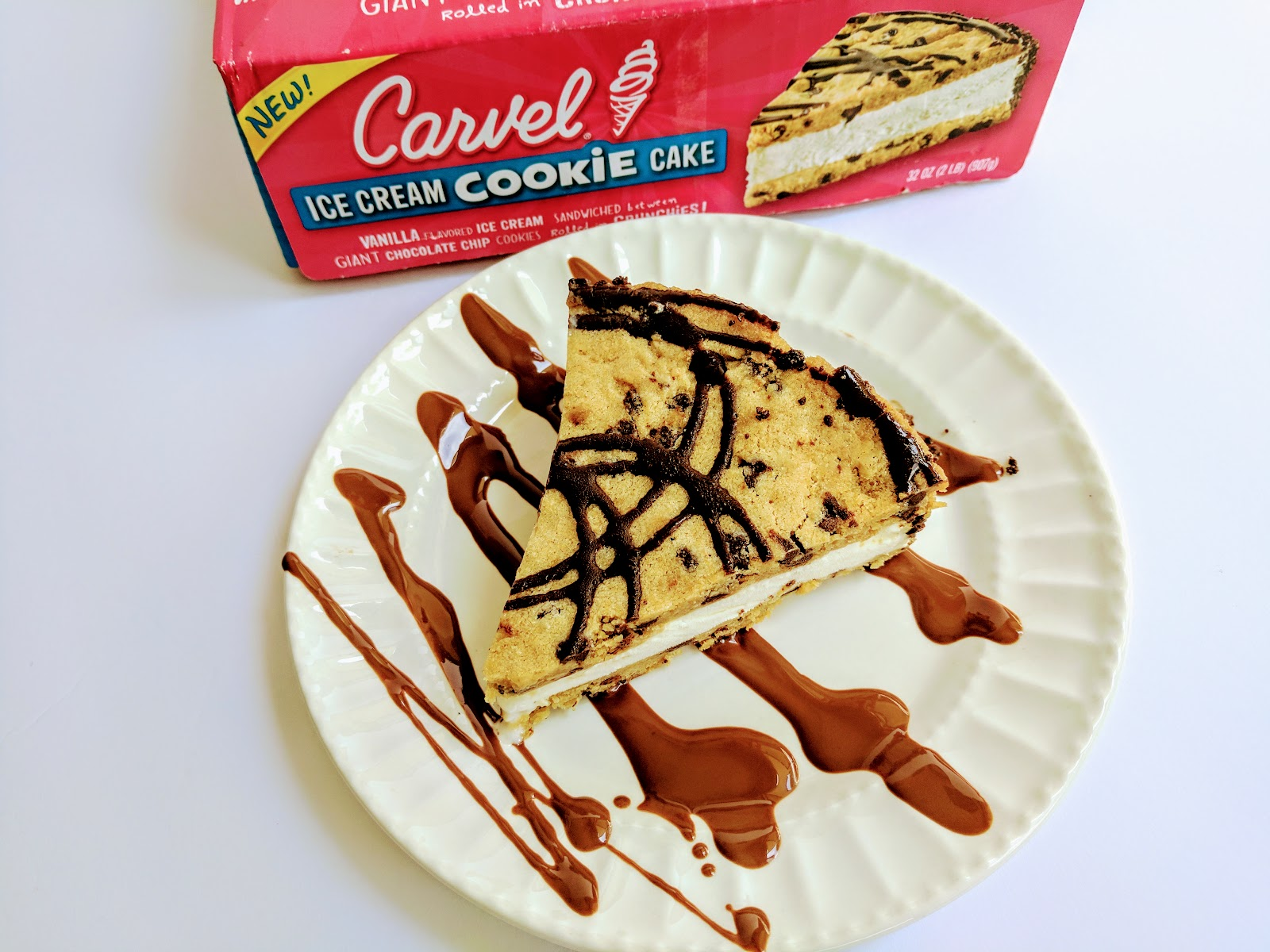 Carvel Cake Cake Chocolate Crunch