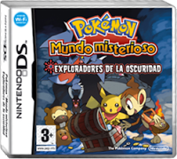 Pokemon Mystery Dungeon Explorers Of the Darkness NDS en Español mega