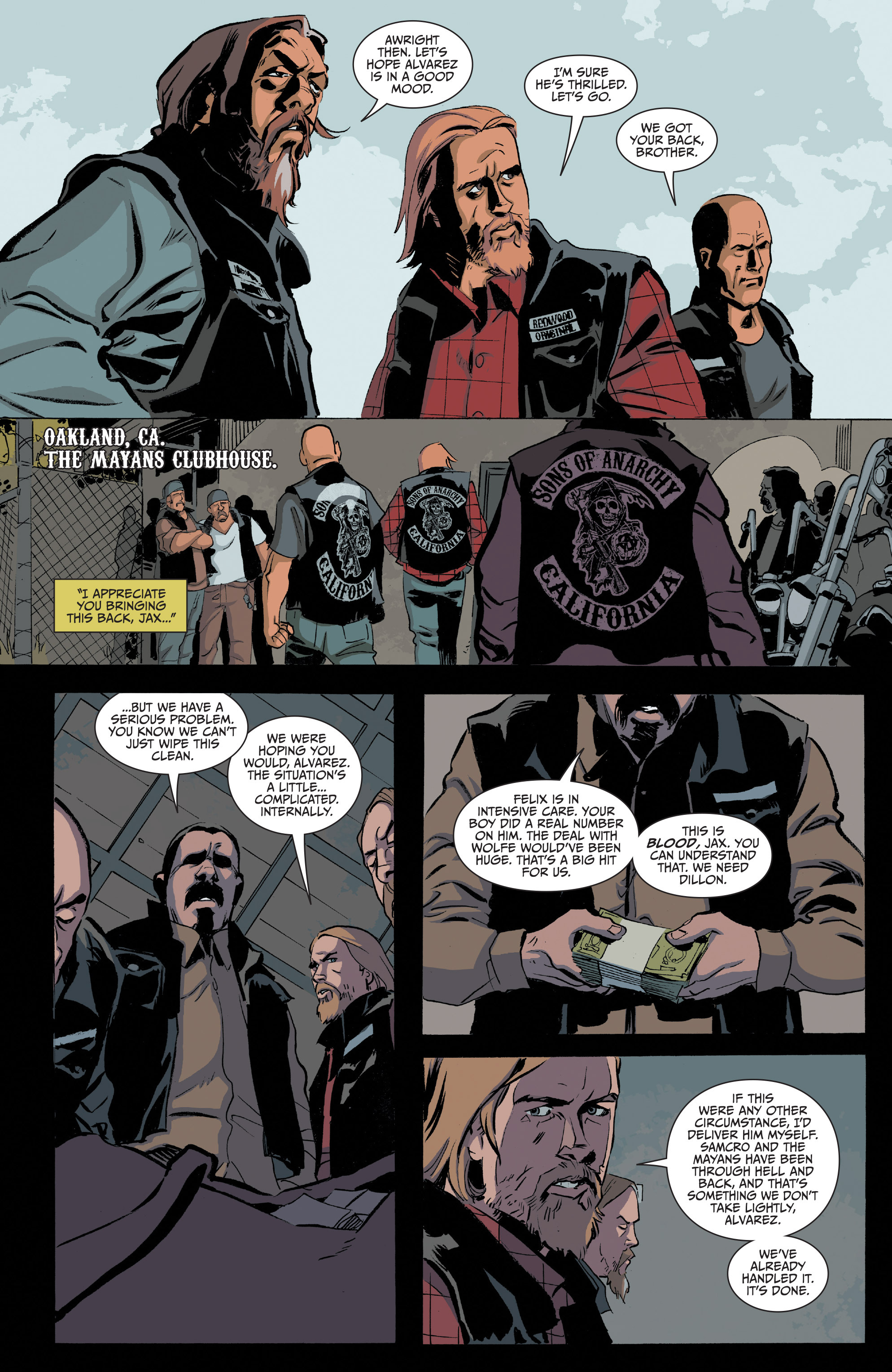 Read online Sons of Anarchy comic -  Issue #20 - 8