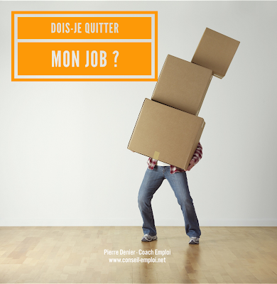bien quitter job emploi