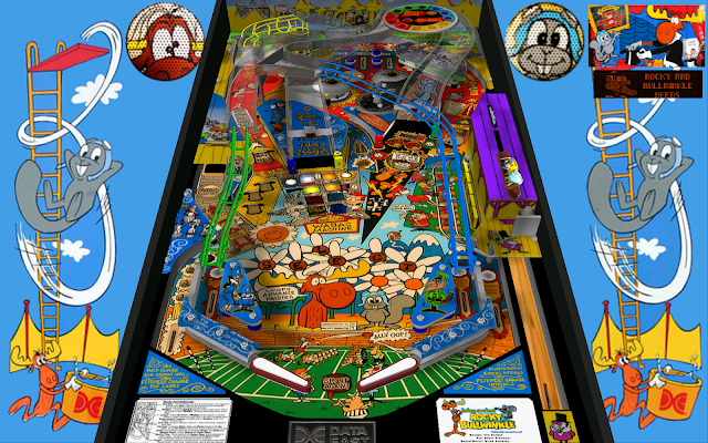 Adventures of Rocky and Bullwinkle and Friends Pinball PC