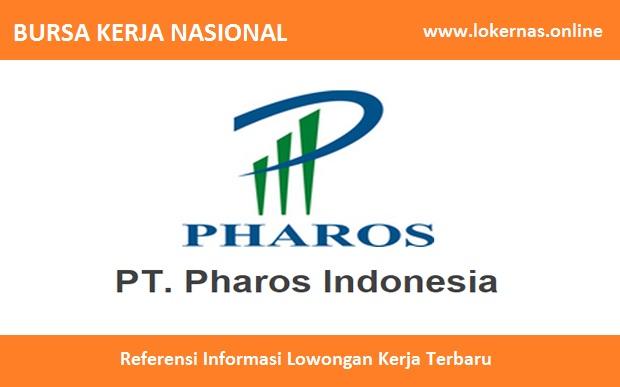 Peluang Kerja Terbaru di PT Pharos Indonesia (Pharos Group) (SMA/SMK/Setara/S1)