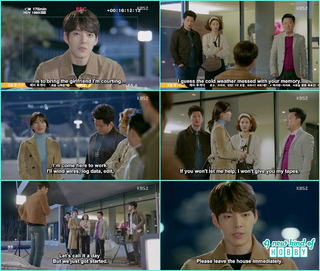 JoonYOung cancel the documentary when No Eul arrive - Uncontrollably Fond - Episode 16 Review
