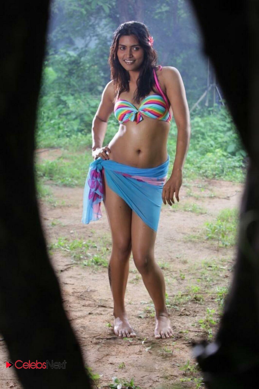 Sravanthi Latest Hot Photo Gallery in Bikini