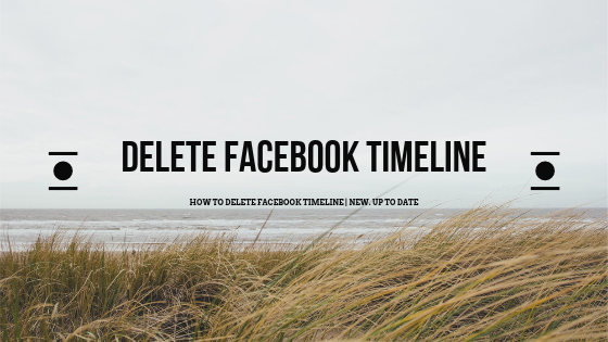 Remove Timeline From Facebook Profile<br/>