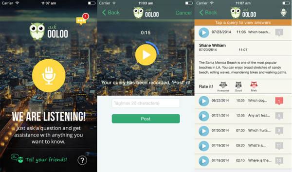 Ooloo, Aplikasi Mirip Siri & Google Now yang Andalkan Tenaga Manusia