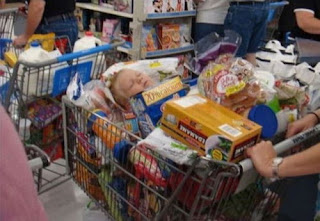 Meanwhile at Walmart Baby in Shopping
