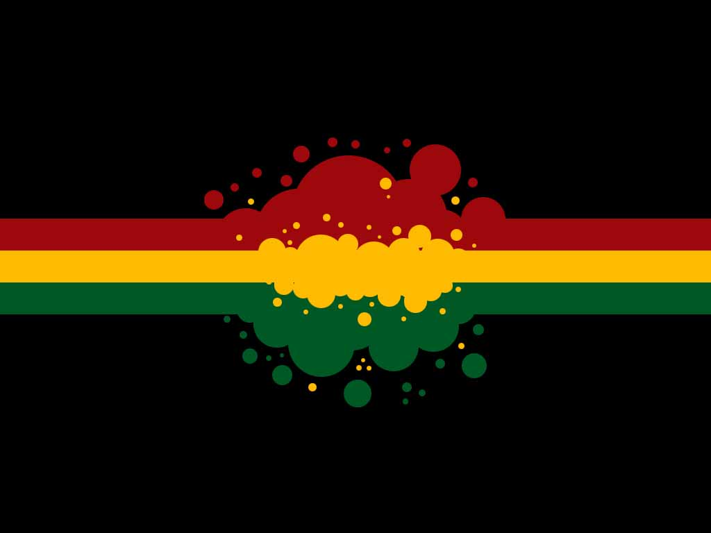 rasta colors backgrounds hd - photo #5