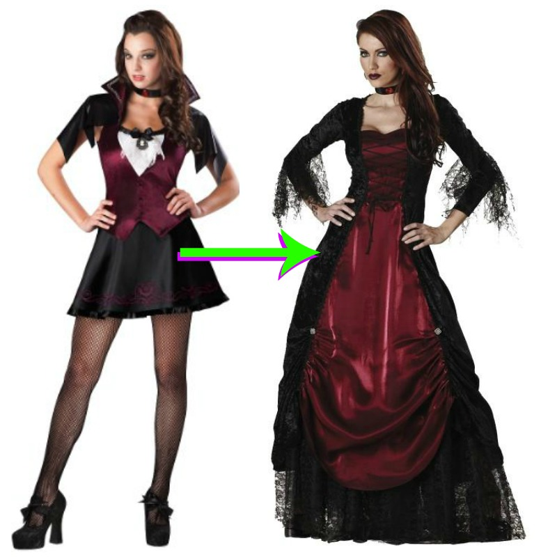 nonsexy vampire costume
