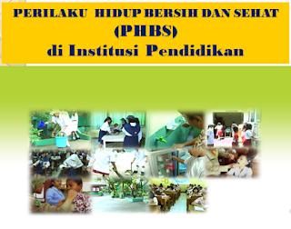 14 Indikator dan Definisi Operasional PHBS di Tatanan Sekolah