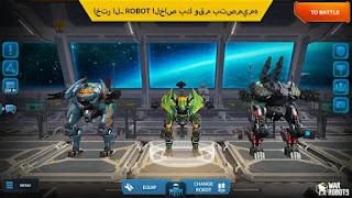 تحميل لعبه War Robots  مهكره