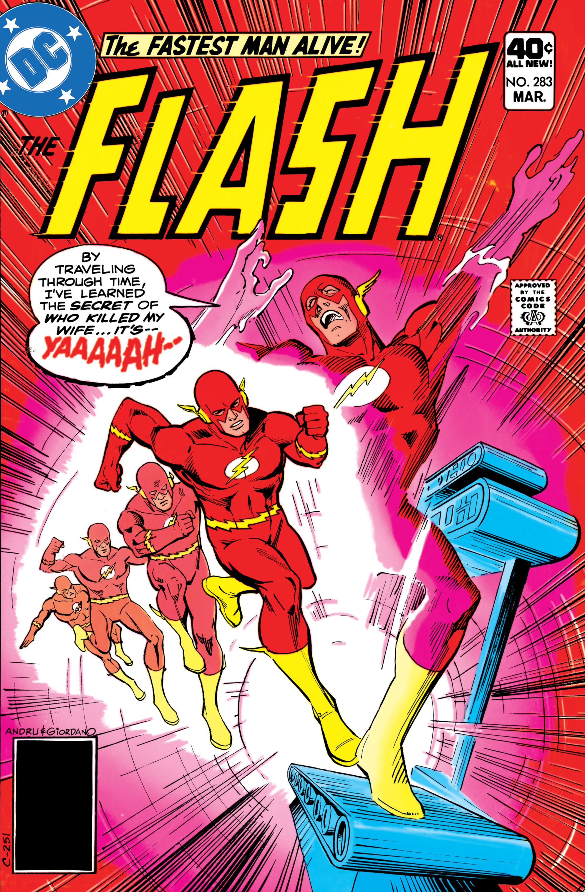 The Flash (1959) 283 Page 1