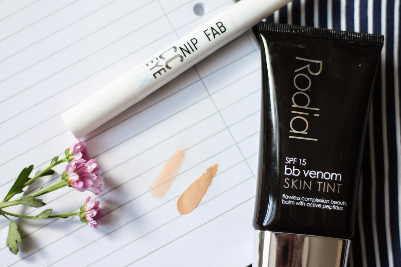 Rodial BB Venom skin tint and Nip+Fab CC Eye Fix review