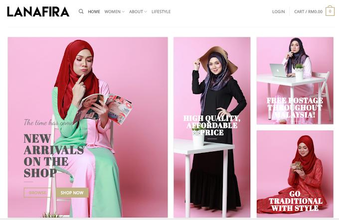Shopping Busana Muslimah LANAFIRA