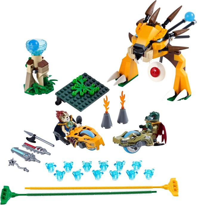 Moje Klocki Lego Lego Chima Lwy Cz1