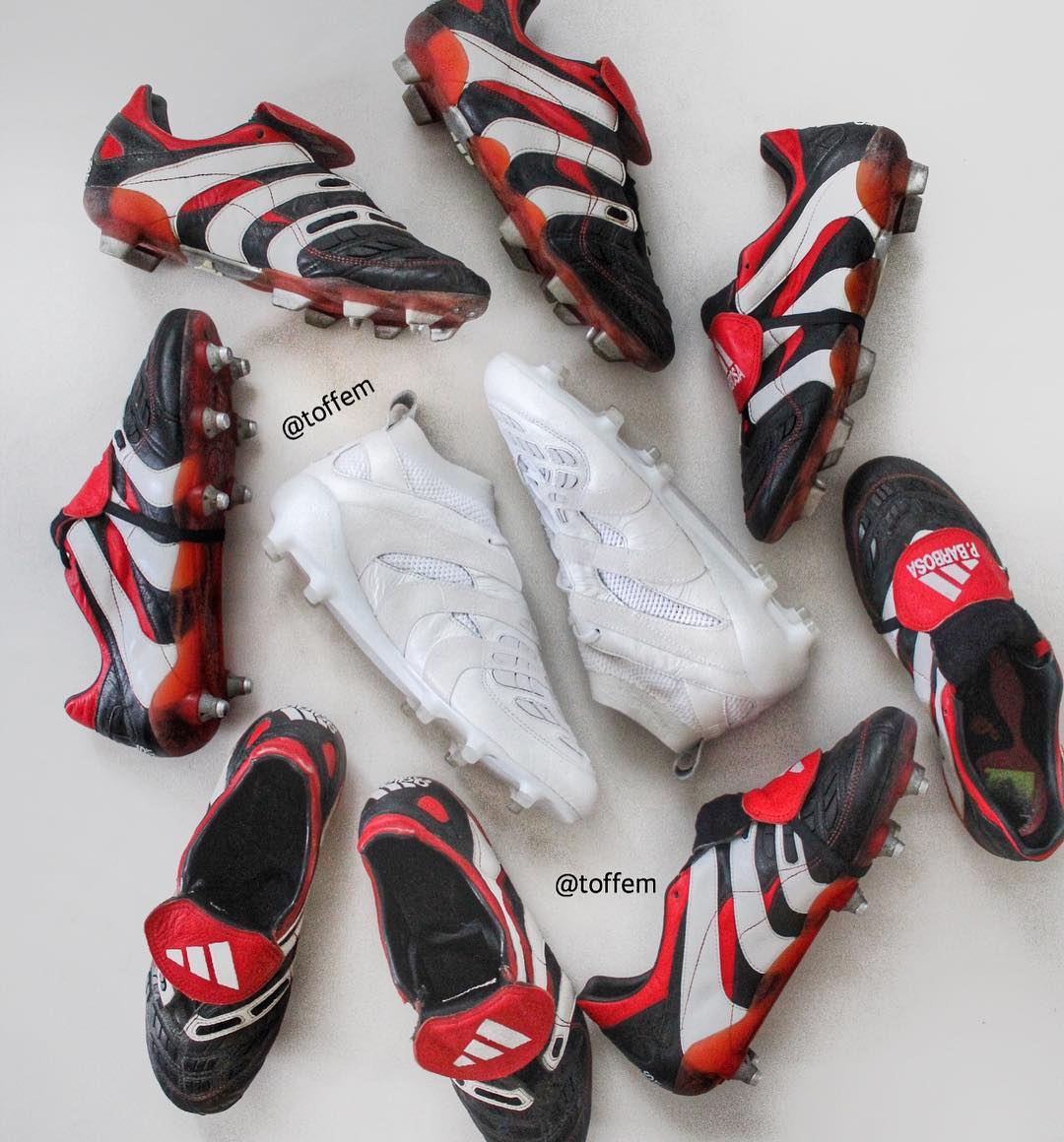 Full Adidas Predator History - 1994-2018