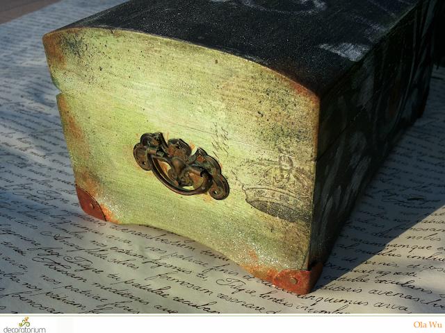 rust effect decoart