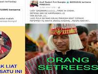 Hina Jokowi pakai baju adat Batak, dua akun ini dilaporkan ke polisi